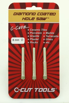 8mm DCHS Hole saws / Drill Bits